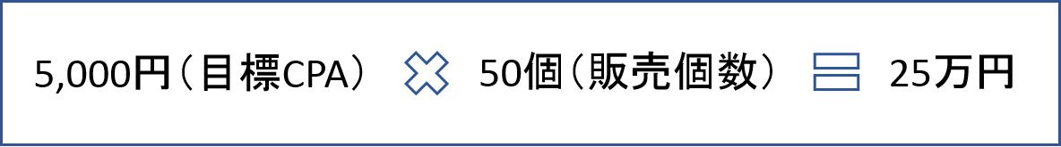 予算 計算式10