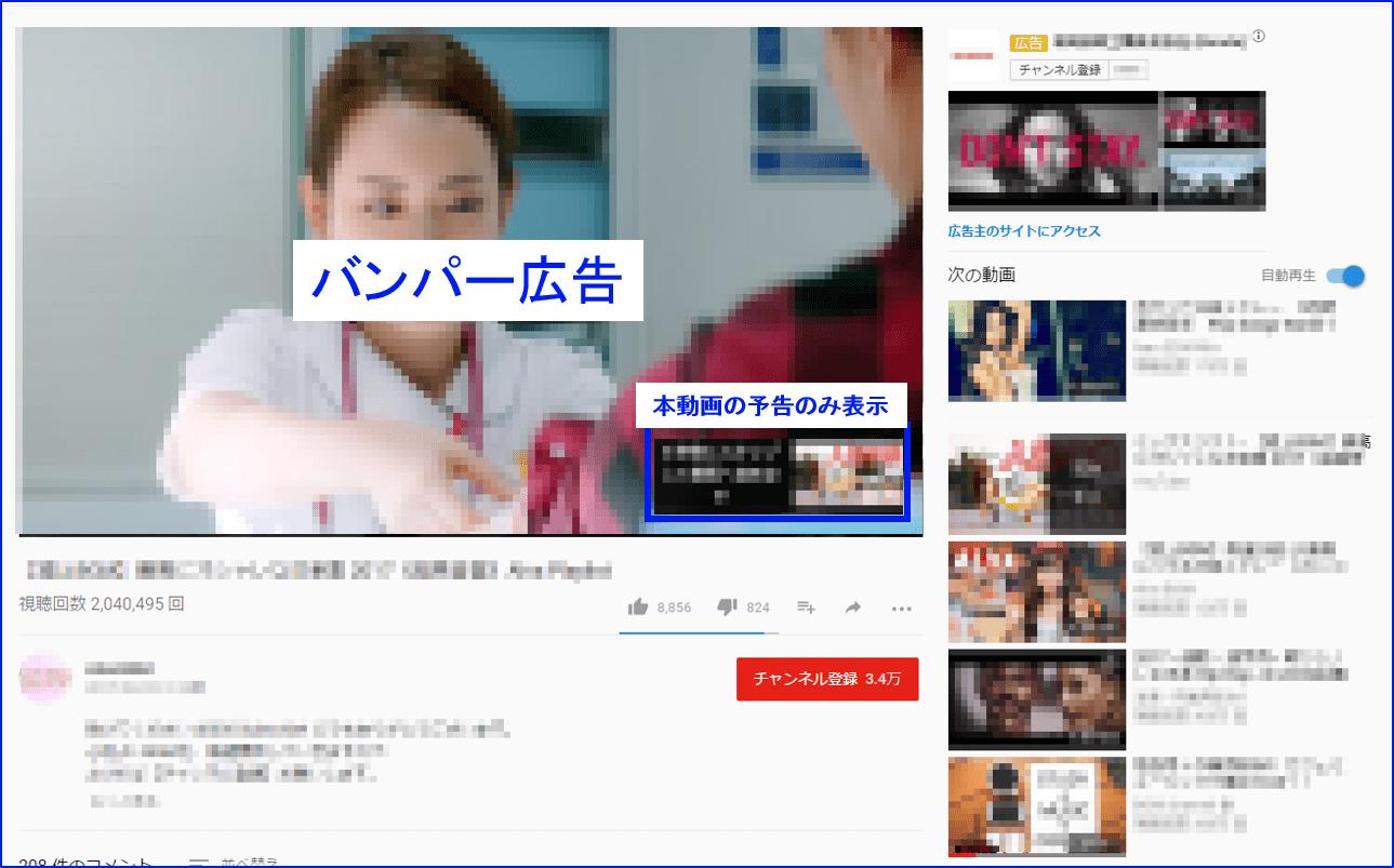 バンパー広告