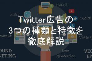 Twitter広告,種類
