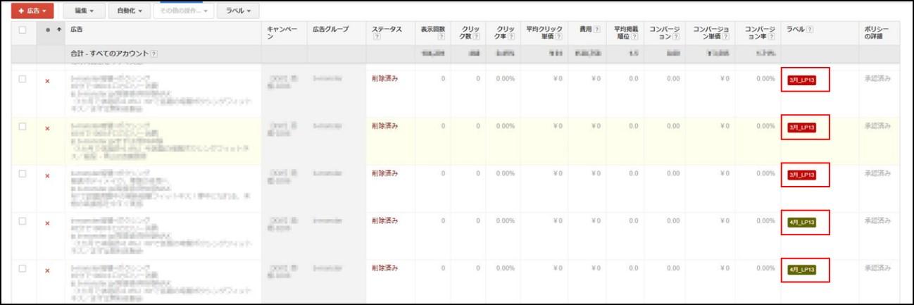 リスティング広告 初心者4