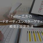 Twitter広告,テイラードオーディエンスターゲティング