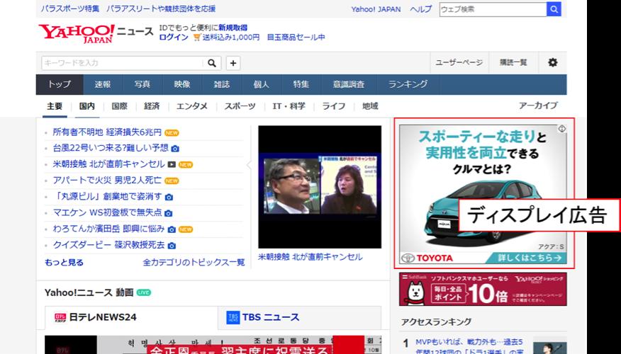 ディスプレイ広告 Yahoo2